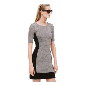J. CREW Paneled Stretch Colorblock Casual Dress 0